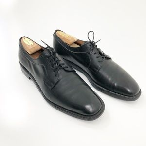 Salvatore Ferragamo Black Studio Oxford Shoes, 10